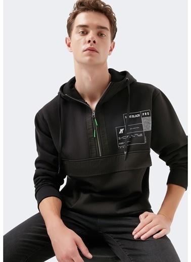 Mavi Mavi 066637-900 Pro Siyah Sweatshirt Siyah